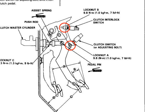 94 integra cruise control wiring diagram cruise control not working  try these team integra forums  cruise control not working  try these