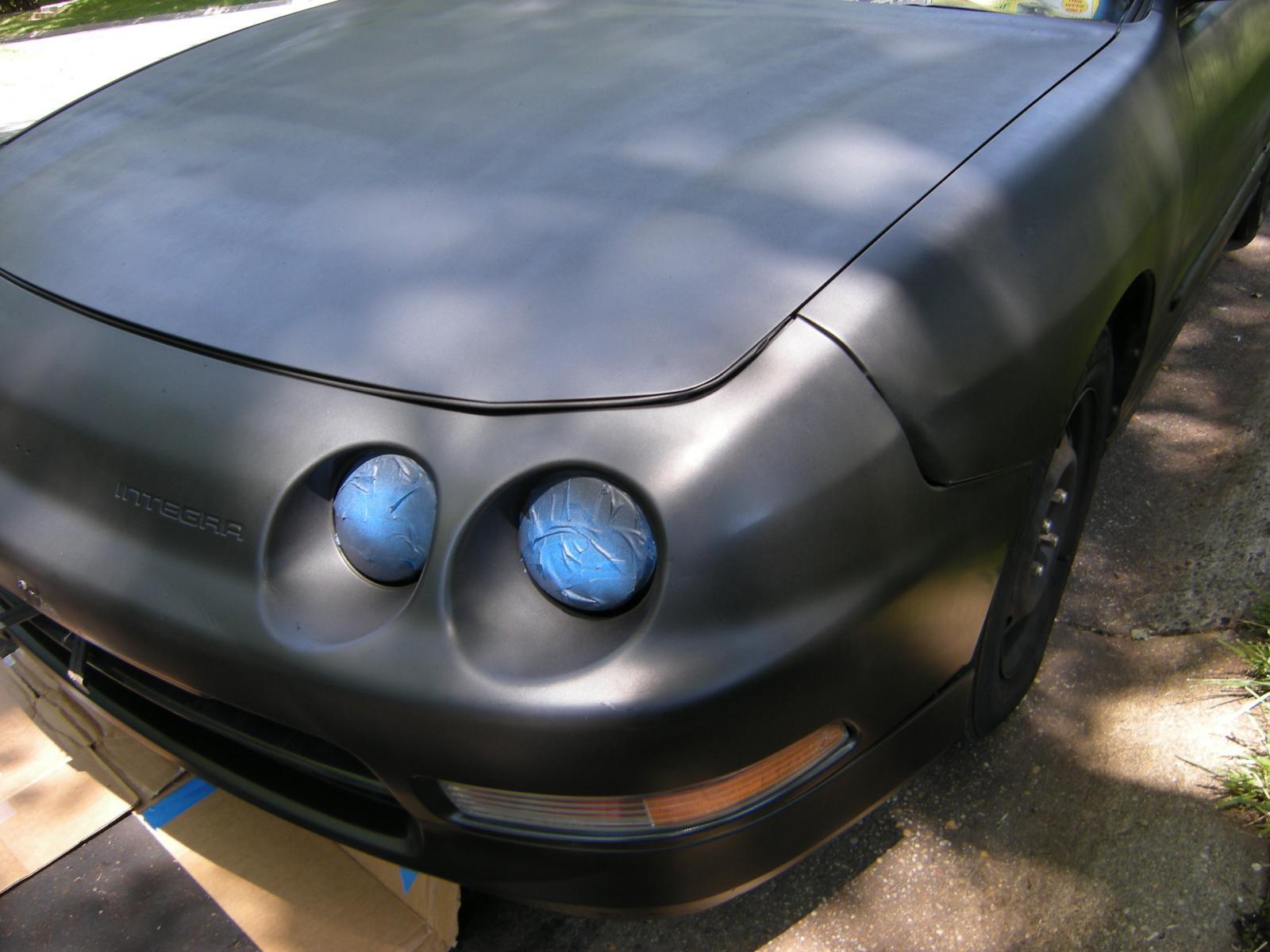 Plasti Dip'n My Whole Car :D