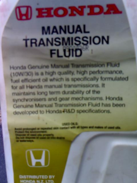 Diy: 2002 honda civic si ep3 manual transmission fluid change.