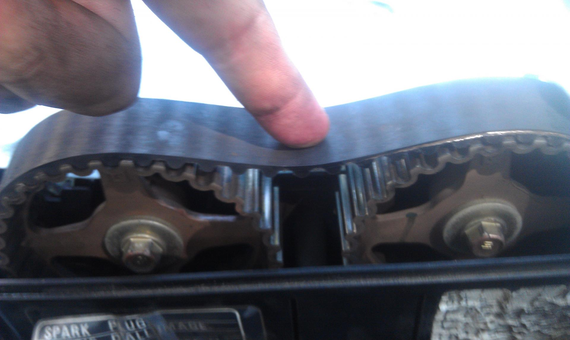 Alternator Belt Broke While Driving Now Car Wont Start After Jeep Engine Timing Failure Click Image For Larger Version Name Imag0119 Views 7764 Size 1543