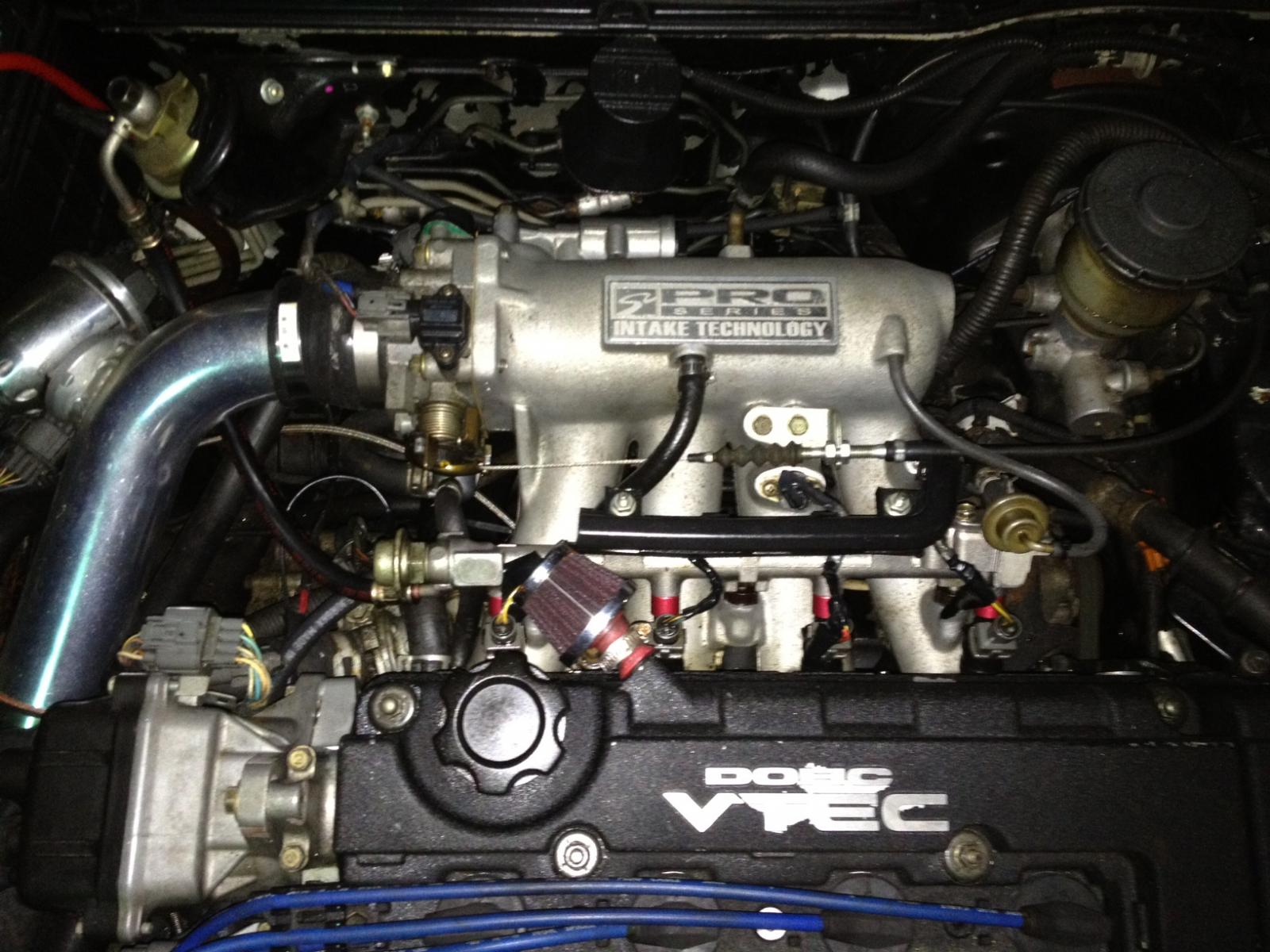 D Burning Oil Oil Coming Out Breather Filter Photo on 97 Integra Gsr