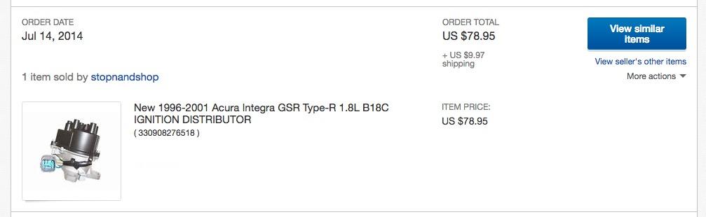 Good Aftermarket Distributor? / VMS Brand Opinions? - Team Integra