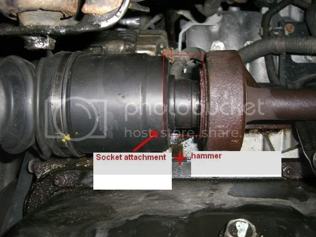 Easy way to remove driver side axle  | Team Integra Forums