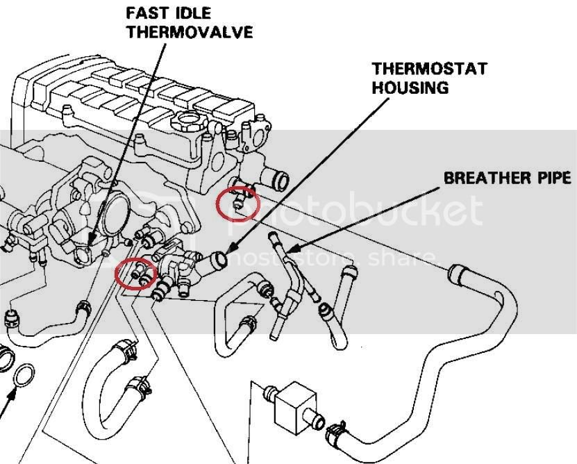 Coolant Hose Attached to Breather Pipe? | Team Integra Forums