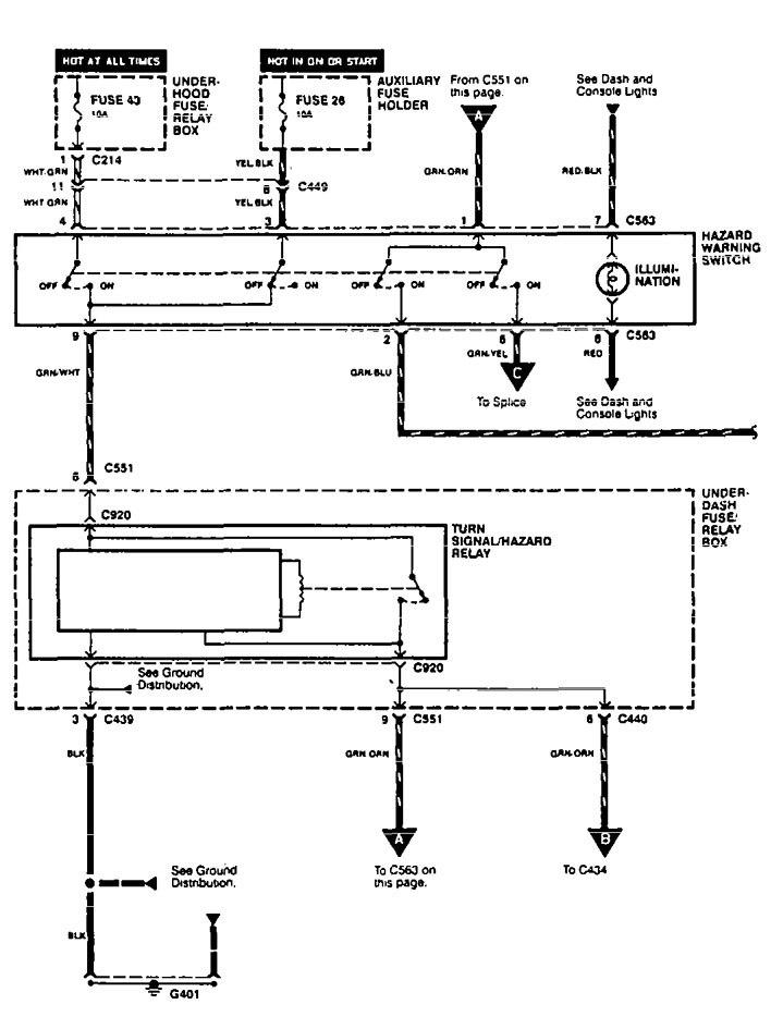 1995 Acura Integra Ab Wiring Diagram - Wiring Diagram Schema