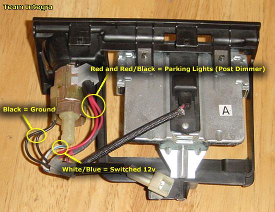 acura integra ls cig radio no power issue team integra i found this diagram