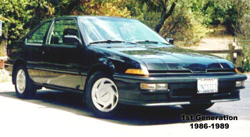 1990 Acura Integra 4 Door. History of the Acura Integra
