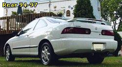 Integra HondaTech Honda Forum Discussion - Acura integra rear bumper