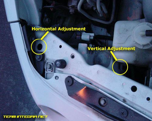 G Headlight Adjust