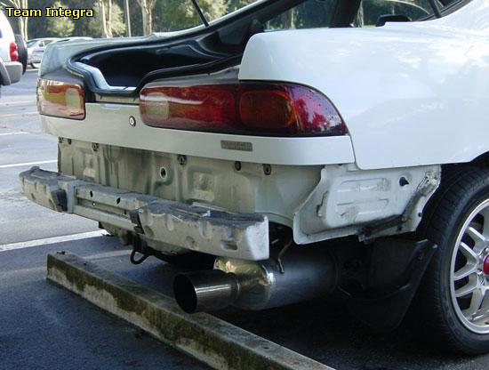 How To Remove Rear Bumper Support Team Integra Forums Team Integra - Acura integra rear bumper