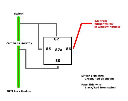 Wiring diagram bypass relay wire center g3 unlock switch bypass team integra forums team integra rh team integra net 5 pin relay wiring diagram wiring diagram for 7 way bypass relay asfbconference2016 Choice Image