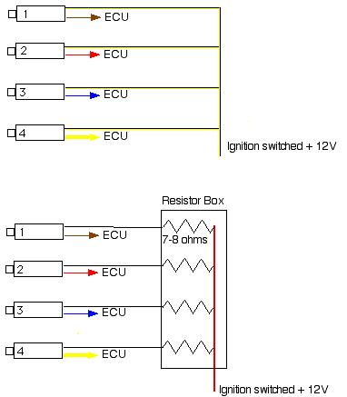 lithonia wall pack wiring diagram resistor pack wiring diagram injectors: saturated vs peak & hold ? - team integra ...